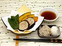 夏野菜の天ぷら