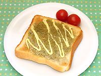 マヨとろトースト