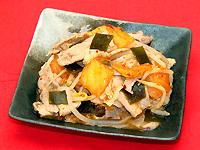豚肉と昆布の韓国風煮