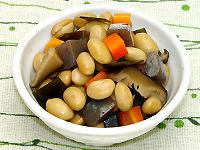 大豆と昆布の煮もの