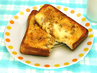 おさかなさんたらのチーズたらトースト