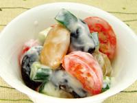 煮豆のヨーグルトサラダ