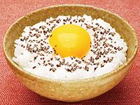 つぶ塩こんぶの卵かけごはん