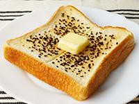 つぶ塩こんぶでバタートースト